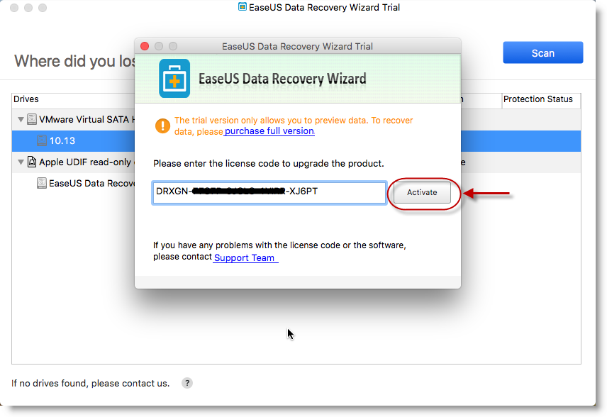 easeus data recovery full mac