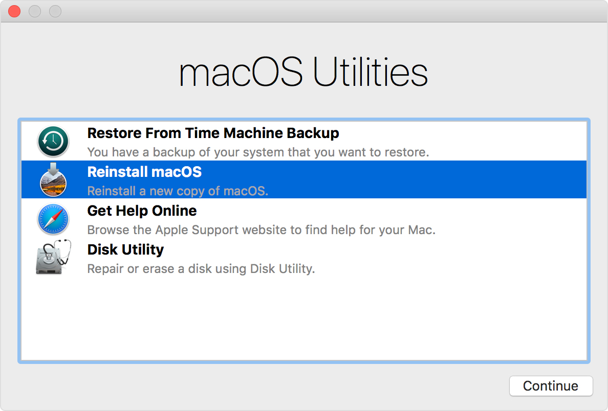 How to fix macOS Mojave Update stuck error
